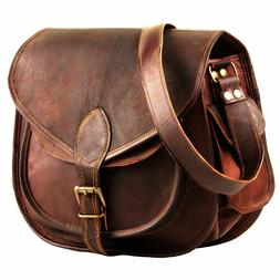 """11""""/13"""" Leather Cross body Purses and Handbags for Women-Pre"""