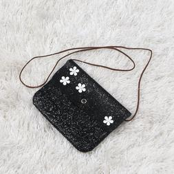 1PC Mini Square Shoulder Bag Small Glitter Sequins Crossbody