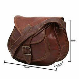 """KB 9"""" Inch Leather Bag Crossbody Bags for women Gypsy Bag Sh"""