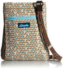 Kavu KEEPALONG BAG Shoulder Travel Cotton Canvas Crossbody B