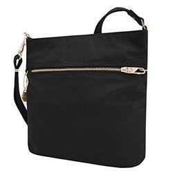 Travelon - Onyx Anti-Theft Tailored NS Slim Bag w/ LED Tethe