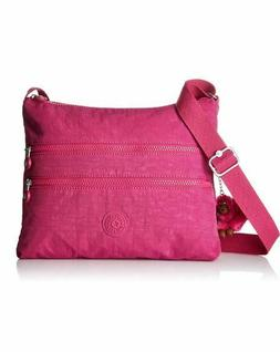 Kipling Alvar Crossbody Shoulder Bag Alyssa Monkey Nylon Hot