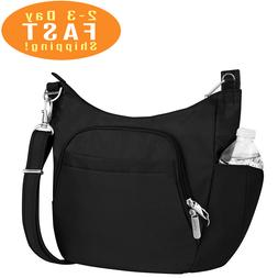 Travelon Anti-Theft Cross-Body Bucket Bag BLACK One Size