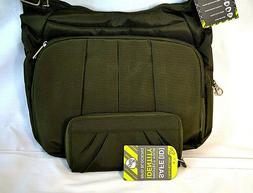 Travelon Anti~Theft Crossbody Handbag/Bag  RFID Wallet Set-E