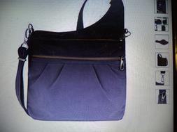 Travelon Anti-theft Signature 3 Compartment Cross Body Bag
