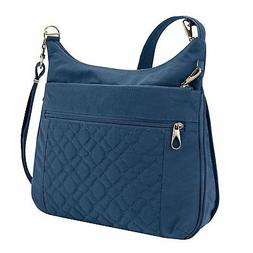 Travelon Anti-theft Signature Quilted Expansion Cross Body B