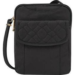 Travelon Anti-Theft Signature Quilted Slim Pouch Cross-Body