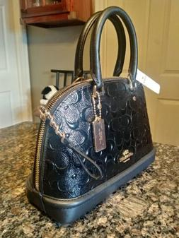 Authentic Coach Crossbody bag New with Tag #F57555 Mini Sier