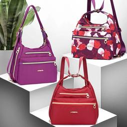 Bag with Double Zippers Handbag Shoulder Bag Crossbody Bag