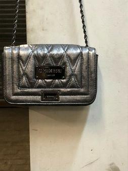 Valentino Bags by Mario Beatriz Chevron Leather Crossbody Ba