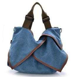 Big Canvas Handbags for Women Shoulder Bags for Travel Lady