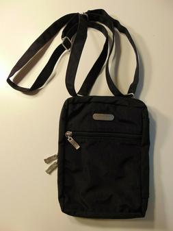Baggallini Black Small Crossbody Bag Purse Travel Organizer