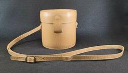 Mundi Brazil Round Crossbody Bag Leather Light Brown