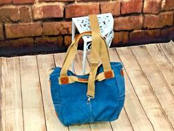 Canvas for Women High Quality Shoulder Bags Blue Designer Br