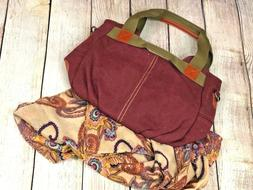 Canvas for Women High Quality Shoulder Bags Purple Olive Ora