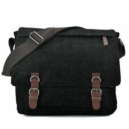 Canvas Messenger Crossbody Large Bag Vintage Main for Men or