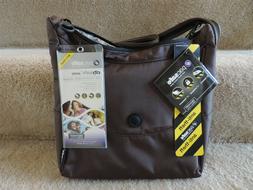 Pacsafe CitySafe 100 Anti Theft Crossbody Hobo Bag Taupe