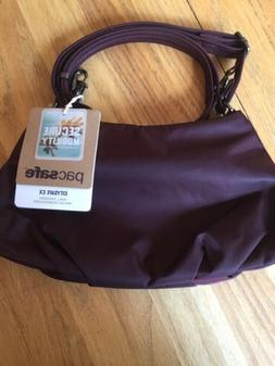 PacSafe CitySafe CX Anti-Theft Crossbody Bag - Merlot