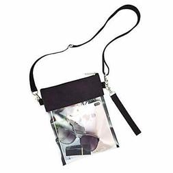Clear Crossbody Purse Bag - Stadium Approved Clear Tote Bag