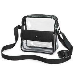 Clear Purse Clear Stadium Bag Approved for NFL,BTS Concert,N
