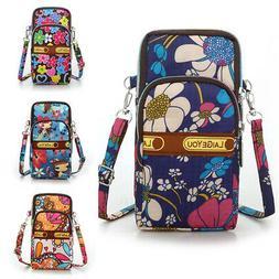 Cross Body Bag Shoulder Bag Armband Wallet Waterproof For Wo