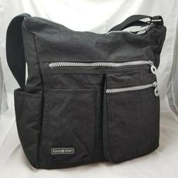 NeatPack Crossbody Bag Purse Anti Theft RFID Pocket Nylon Bl