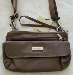 Baggallini CROSSBODY MINI Crinkle Nylon Clutch Shoulder Bag