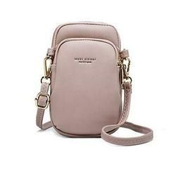 Crossbody Pouch For Women Cellphone Bags Wasit Bag Soft Leat