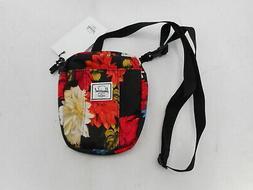 Herschel Cruz Cross Body Bag, Vintage Floral Black, One Size
