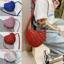 Cute Mini Shoulder Bag PU Leather Handbag Tote Crossbody Pur