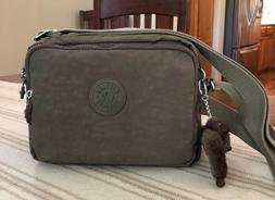 Kipling Deena Crossbody Bag, Soft Earthy Beige, NWOT, Free S