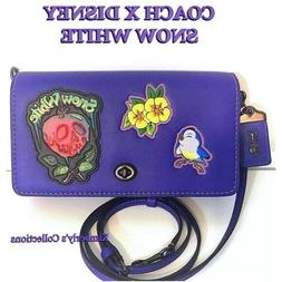 COACH DISNEY Snow White Bag Dark Fairy Tale Poison Apple Blu