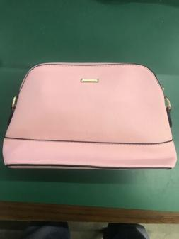 elim and paul pink hand bag purse