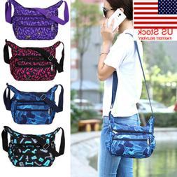 Fashion Crossbody Top Zip Handbag Women's Purse Shoulder Bag