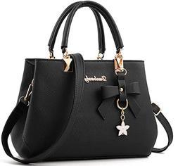Dreubea Fashion Handbag Satchel, Shoulder Purse, Crossbody B