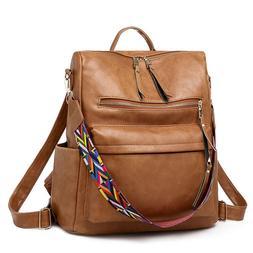 Women's Bags Handbags PU Leather Backpack Satchel Tote Purse