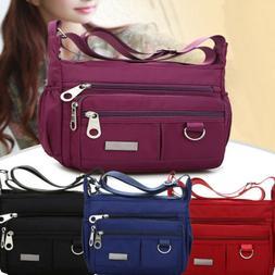 Fashion Women's Handbag Nylon Canvas Shoulder Bag Messenger