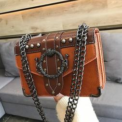 Female Crossbody Bags For Women 2019 PU Leather Famous Brand