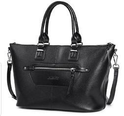 Genuine Soft Leather Handbags for Women Tote Shoulder Purse