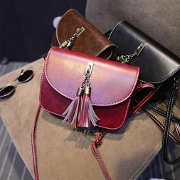 Girls Crossbody Bag - Small Leather Purse and Handbags For T