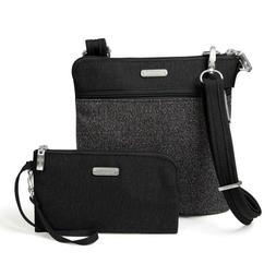 Great New $97 Baggallini  Anti-Theft  Slim Crossbody Bag