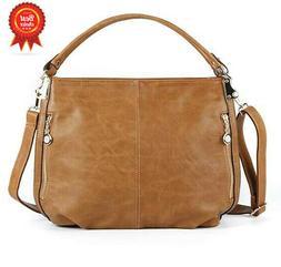 H&RU Shoulder Bags for Women,PU Leather Hobo Handbags Top-