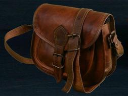 HALLOWEEN SALE Women's Vintage Leather Crossbody Shoulder Ha