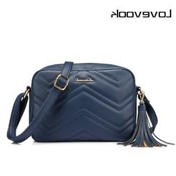 LOVEVOOK houlder messenger bags for women crossbody bag PU f