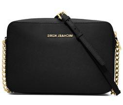 Michael Kors Jet Set Large EW Saffiano Leather Crossbody Bag