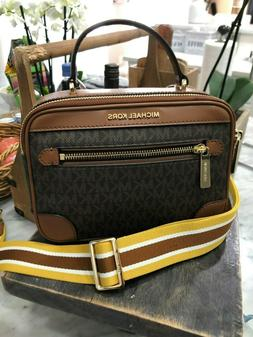Michael Kors Jet Set Travel Top Handle Camera Crossbody Bag