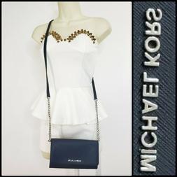 Michael Kors Jet Set Travel Woman Crossbody Bag LG Leather B
