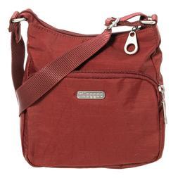 Baggallini JOEY SMALL HOBO BAG Crinkle Nylon Crossbody Purse