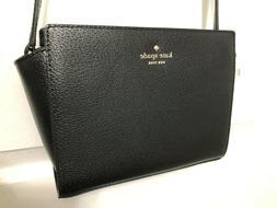 Kate Spade Grand Street Hayden Crossbody Bag Leather  Black