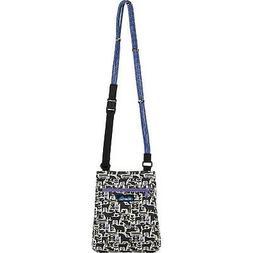 KAVU Keepalong Semi Padded Sling Canvas Rope Crossbody Bag -